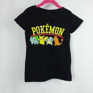 Girl's Pokemon Graphic Tee Shirt